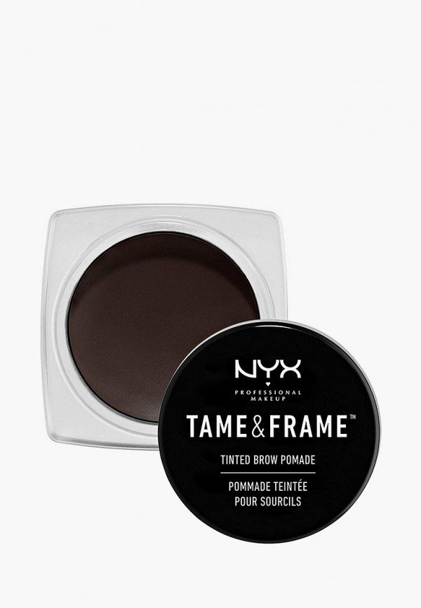 женский помада для бровей nyx professional makeup, черный