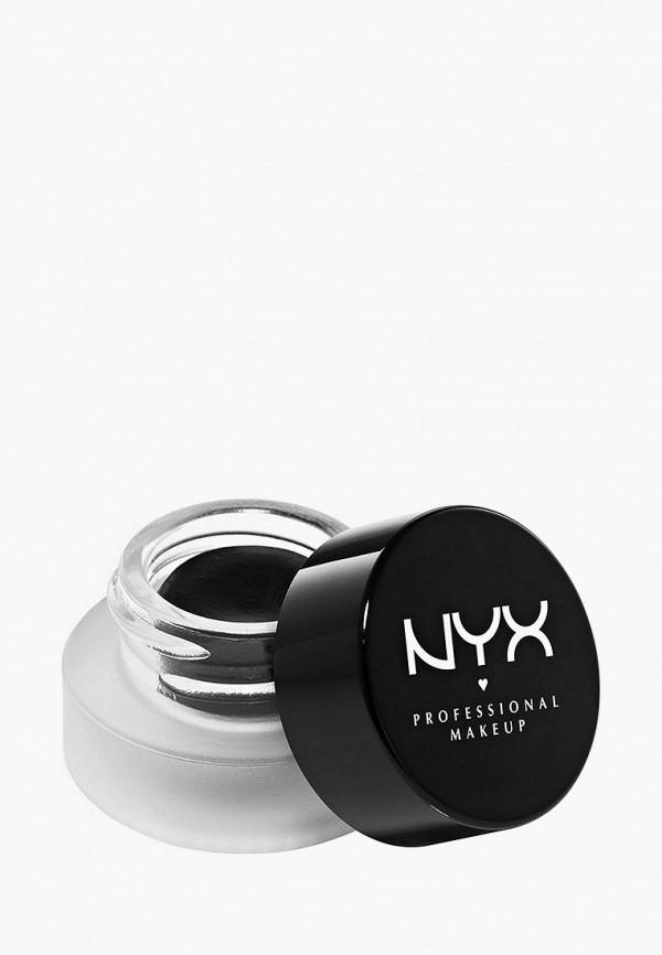 женский подводка для глаз nyx professional makeup, черный