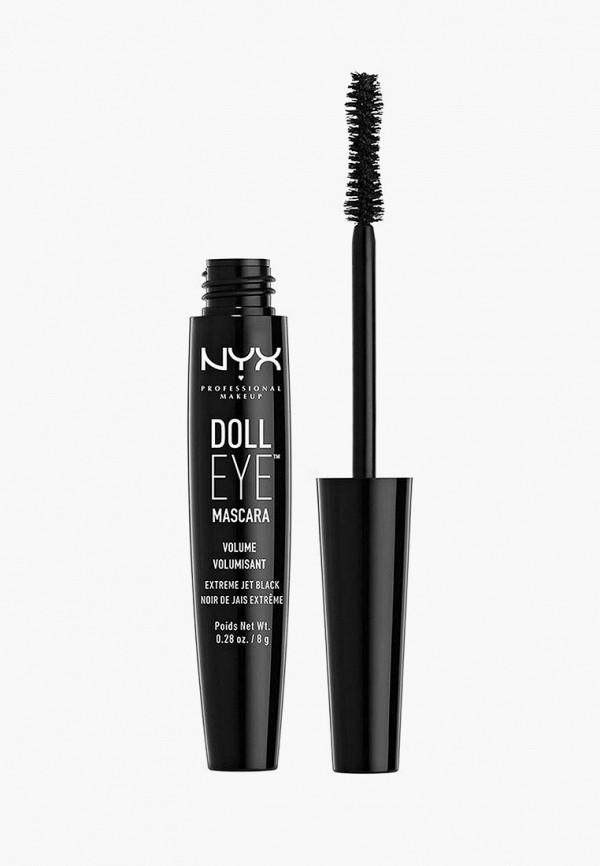 женский тушь для ресниц nyx professional makeup, черный