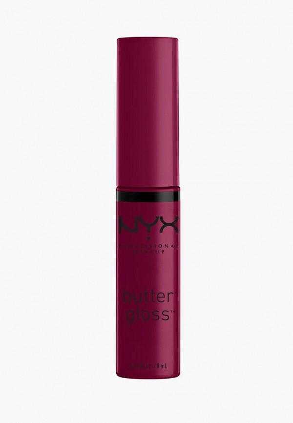 женский блеск для губ nyx professional makeup, фиолетовый
