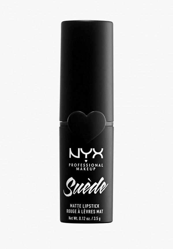 женская помада nyx professional makeup, бордовая