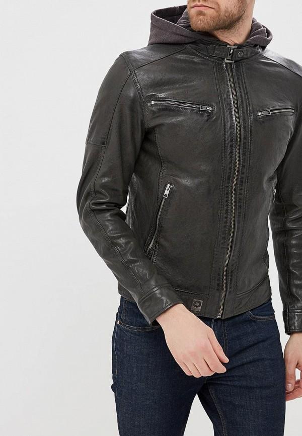 Куртка кожаная Oakwood Oakwood OA002EMAFPO5 цена