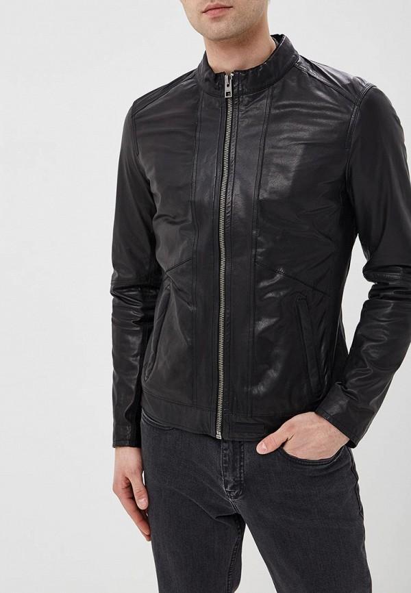 Купить Куртка кожаная Oakwood, oa002emdvtm7, черный, Весна-лето 2019