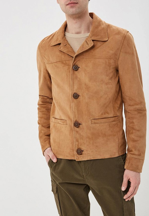 мужская куртка oakwood, бежевая