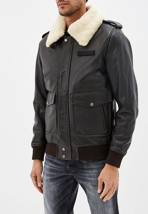 Куртка кожаная Oakwood Oakwood OA002EMGFTA3 куртка кожаная oakwood oakwood oa002ewppl51
