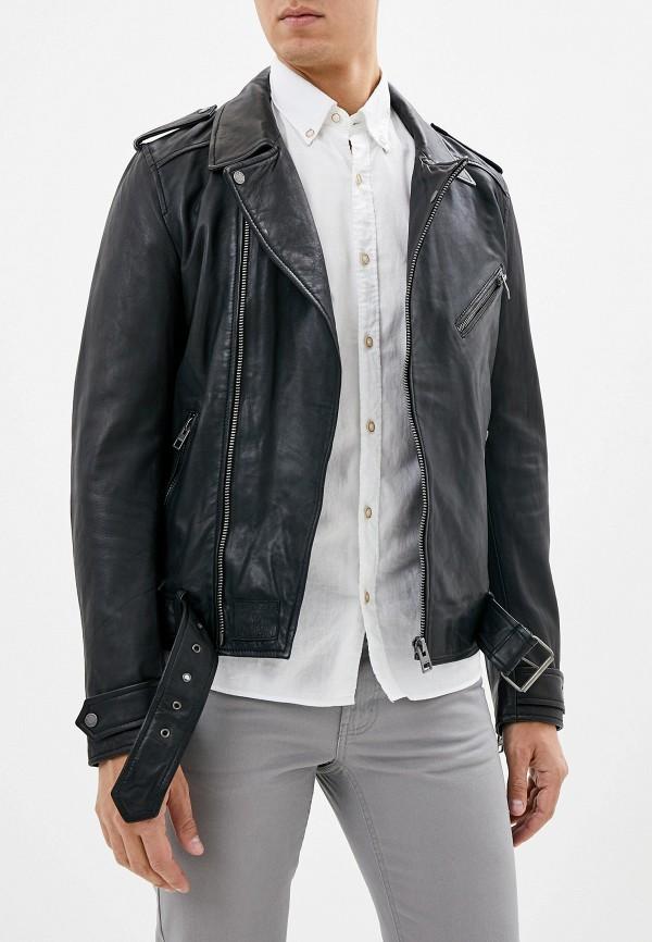 Куртка кожаная Oakwood Oakwood OA002EMGFTA7 куртка кожаная oakwood oakwood oa002ewppl51