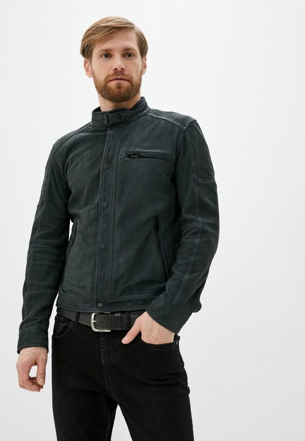 мужская куртка oakwood, синяя