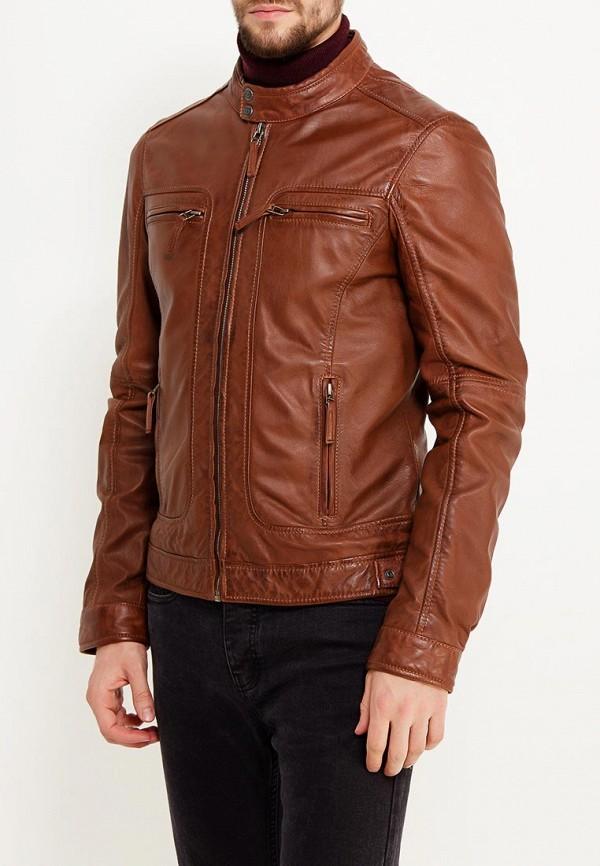 Куртка кожаная Oakwood Oakwood OA002EMWFF91 куртка утепленная oakwood oakwood oa002emjjj82