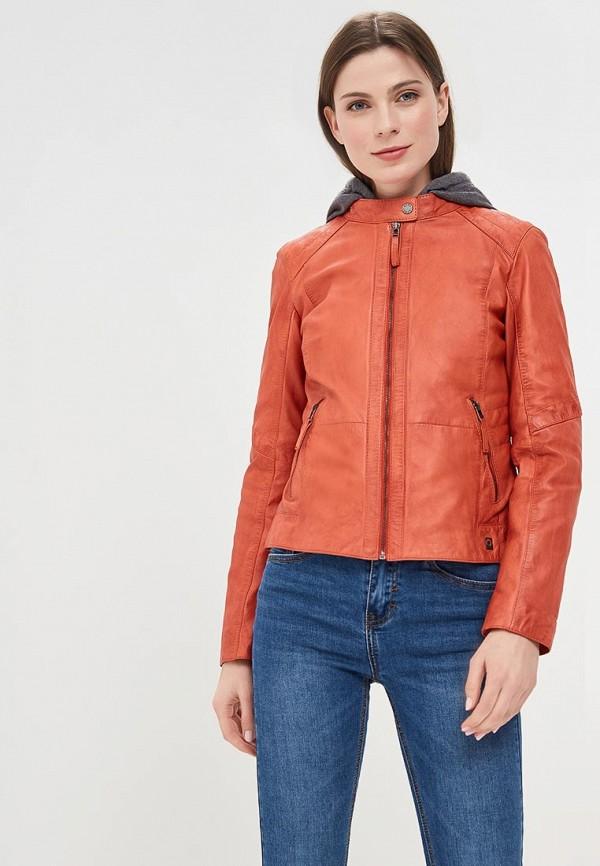 Куртка кожаная Oakwood Oakwood OA002EWAFZA7 куртка утепленная oakwood oakwood oa002emjjj82