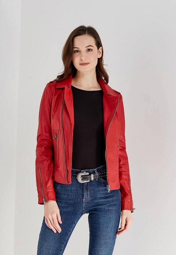 Куртка кожаная Oakwood Oakwood OA002EWAFZA9 цена