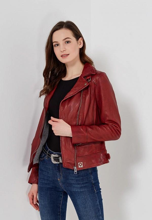 Куртка кожаная Oakwood Oakwood OA002EWAFZB5