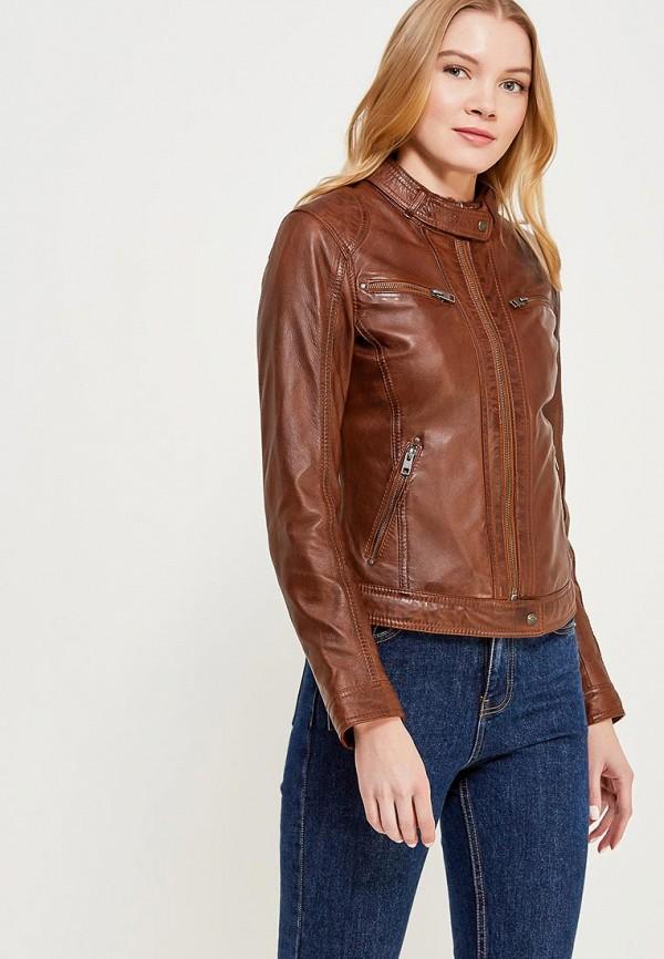 Куртка кожаная Oakwood Oakwood OA002EWAFZC2 куртка утепленная oakwood oakwood oa002emjjj82