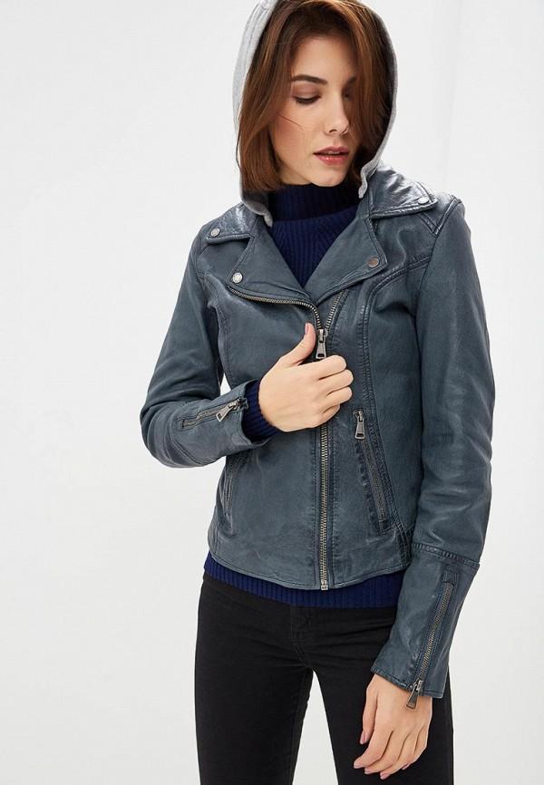 Купить Куртка кожаная Oakwood, OA002EWBSVD6, серый, Осень-зима 2018/2019