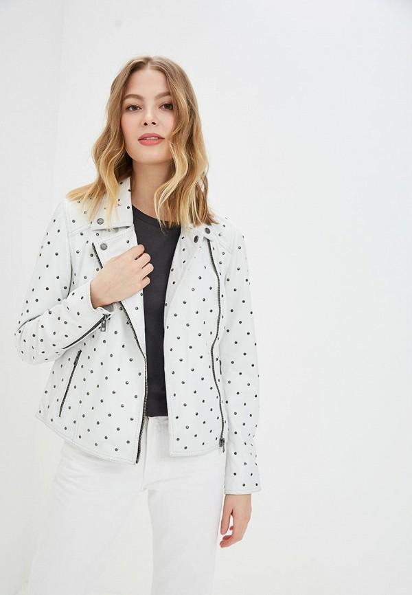 Купить Куртка кожаная Oakwood, oa002ewdvto1, белый, Весна-лето 2019