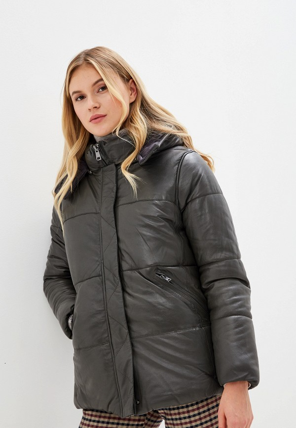 Куртка утепленная Oakwood Oakwood OA002EWGFTC2 куртка кожаная oakwood oakwood oa002ewppl51