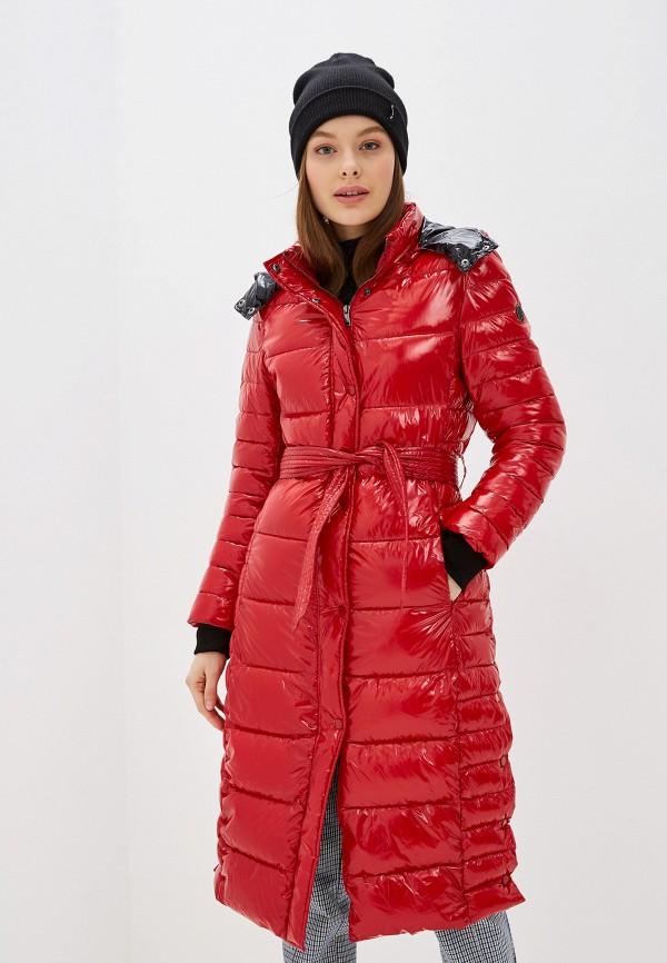 женская куртка oakwood, красная