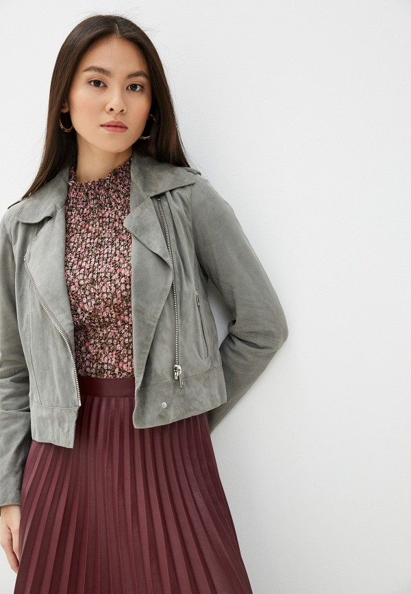 женская куртка oakwood, серая