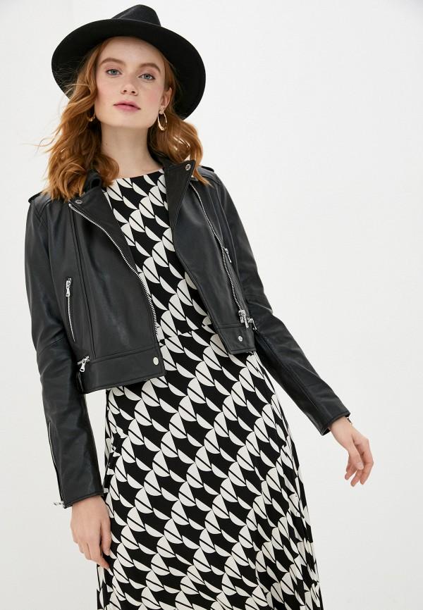 женская куртка oakwood, черная