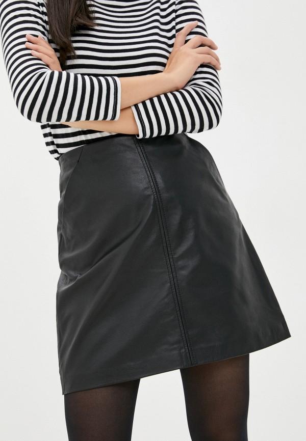 женская юбка oakwood, черная