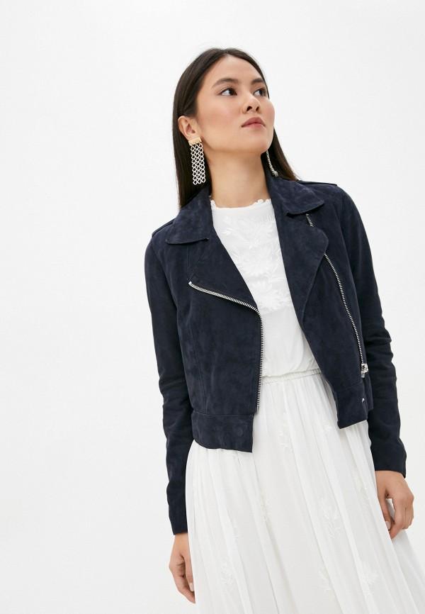 женская куртка oakwood, синяя