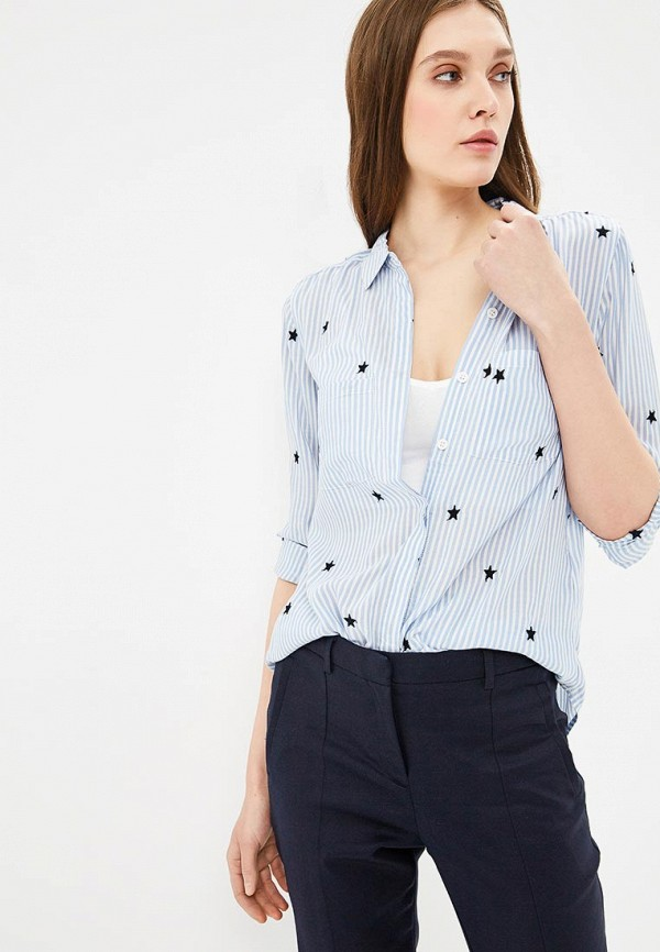 Рубашка Oasis Oasis OA004EWBMUW6 oasis oslo с двумя отделениям голубой 11960001