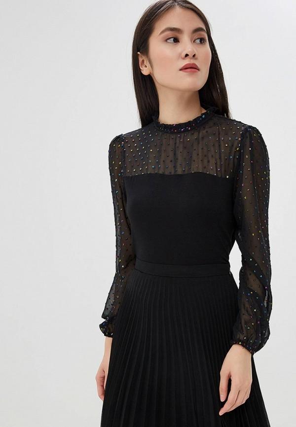 женская блузка oasis, черная