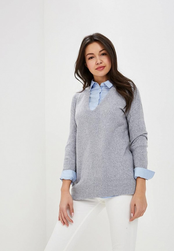 женский пуловер oasis, серый