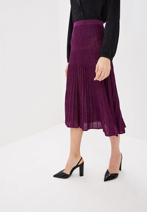 женская юбка oasis, фиолетовая