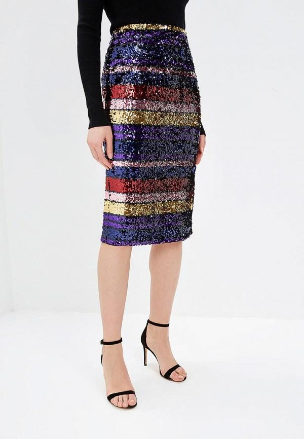 женская прямые юбка oasis, разноцветная