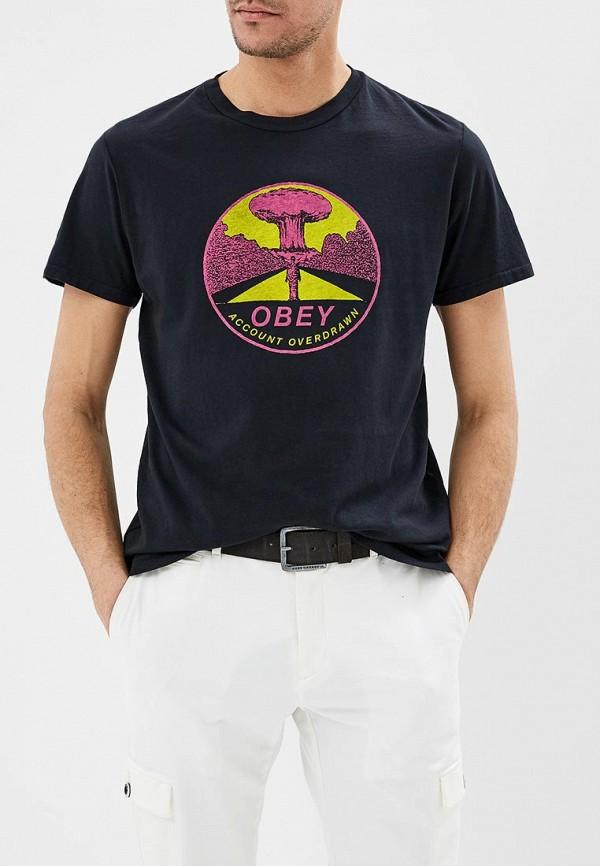 Футболка Obey Obey OB006EMDSBQ8 кепки obey мужские