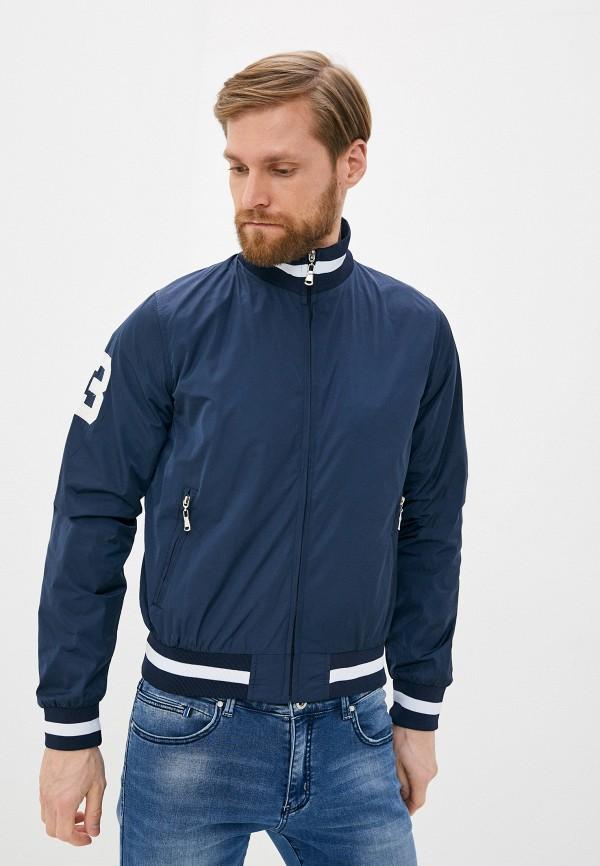 мужская куртка occhibelli, синяя