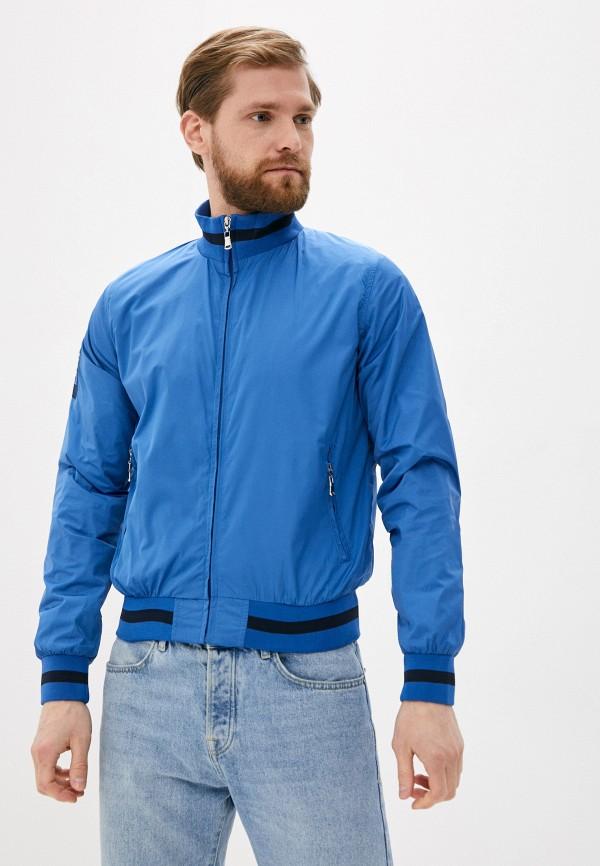 мужская куртка occhibelli, голубая