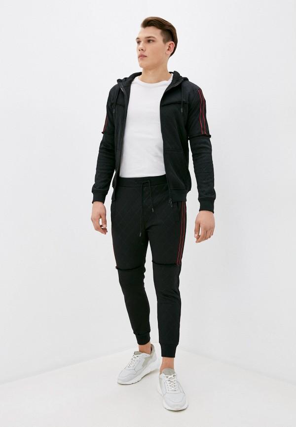 мужской спортивный костюм occhibelli, черный