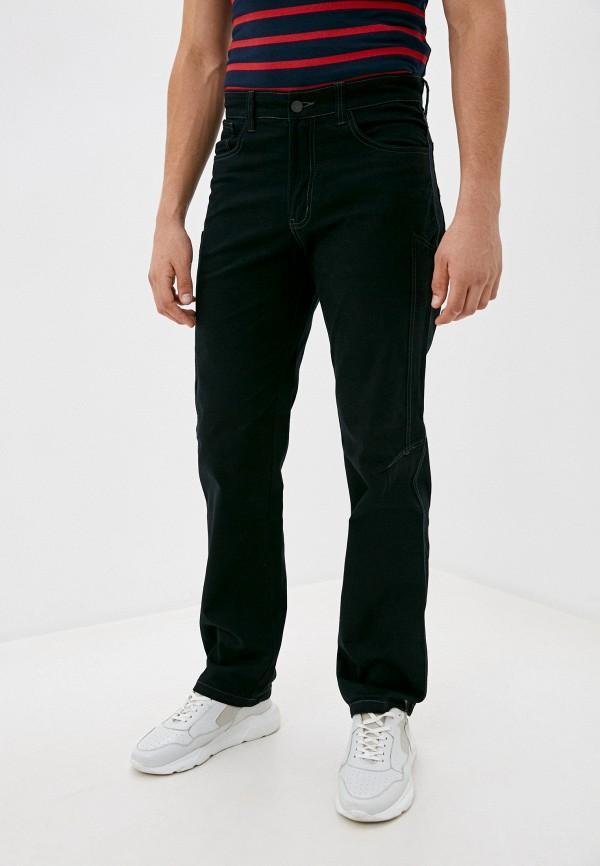 мужские прямые джинсы occhibelli, черные