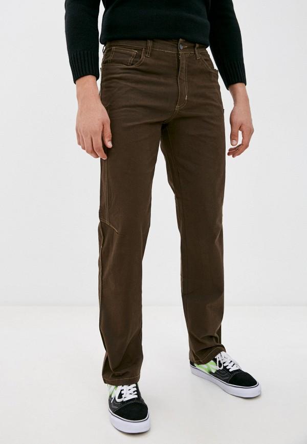 мужские брюки чинос occhibelli, коричневые