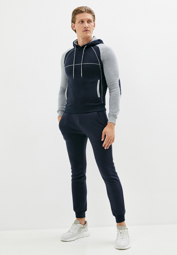мужской спортивный костюм occhibelli, синий