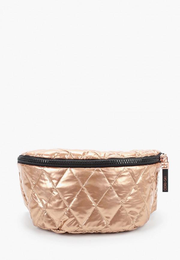женская сумка odri, золотая