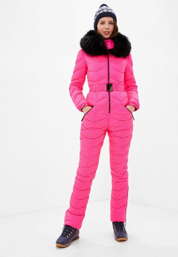 женские комбинезоны и костюмы odri, розовые