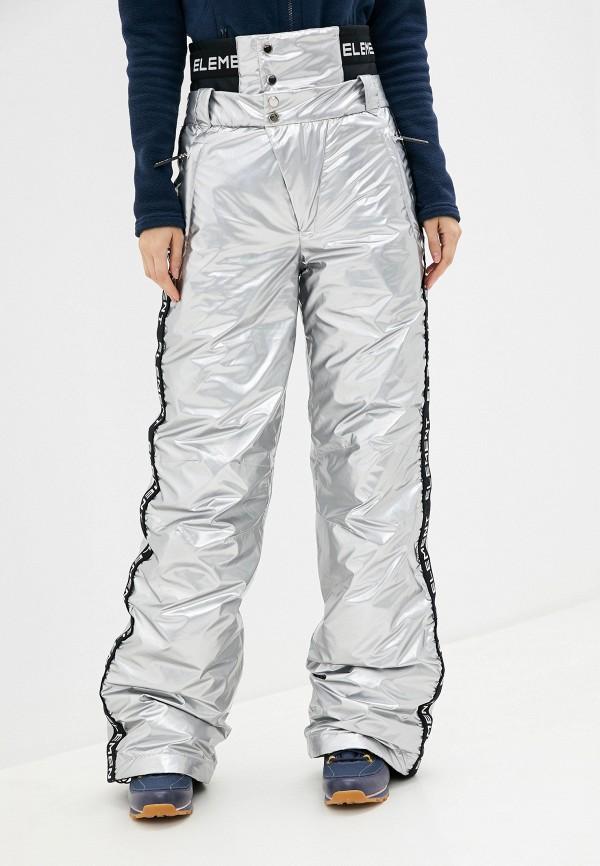 женские брюки odri, серебряные