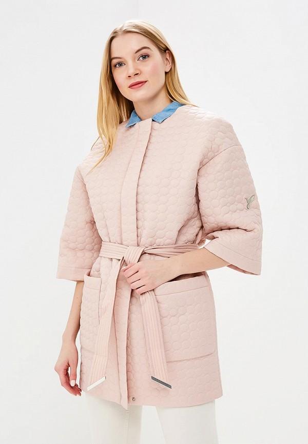 Купить Куртка утепленная Odri Mio, od006ewaqow1, розовый, Весна-лето 2018