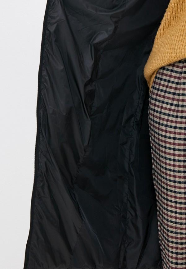 Фото 4 - Куртку утепленная Odri Mio черного цвета