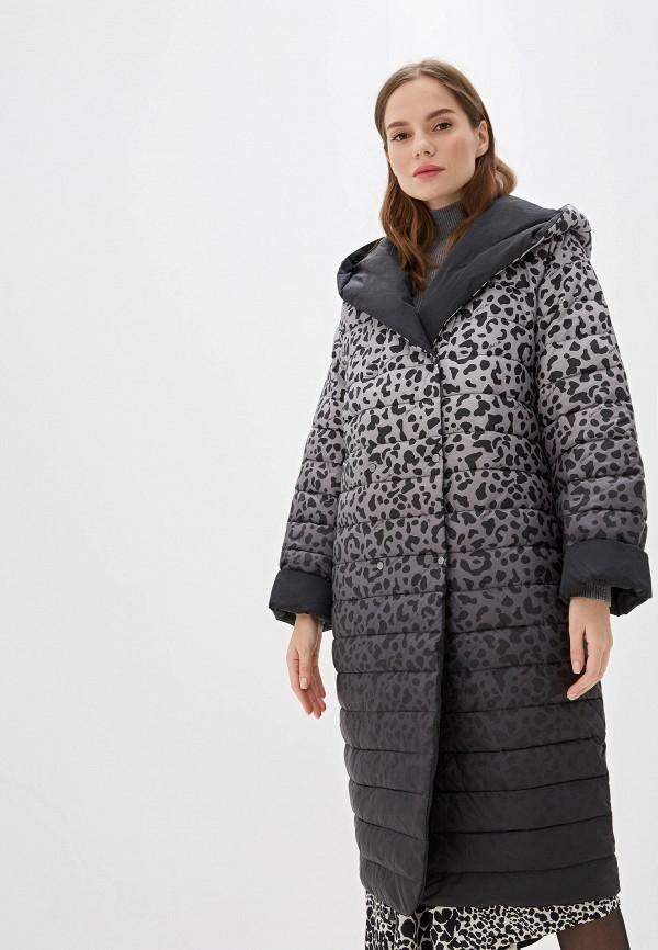 цена Куртка утепленная Odri Mio Odri Mio OD006EWGRQK2 онлайн в 2017 году