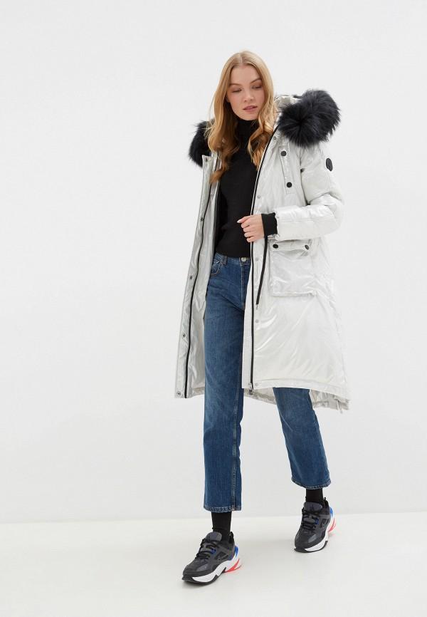 цена Куртка утепленная Odri Mio Odri Mio OD006EWGRQL9 онлайн в 2017 году