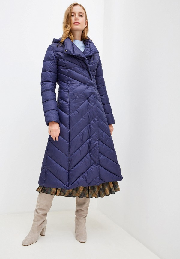 женская куртка odri mio, синяя