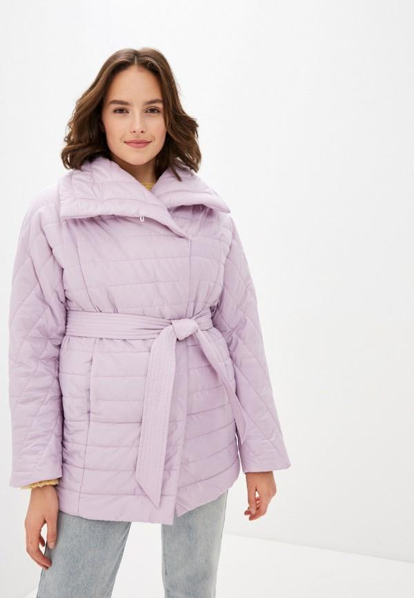 женская куртка odri mio, фиолетовая