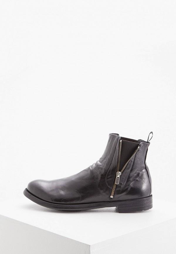мужские ботинки officine creative, черные