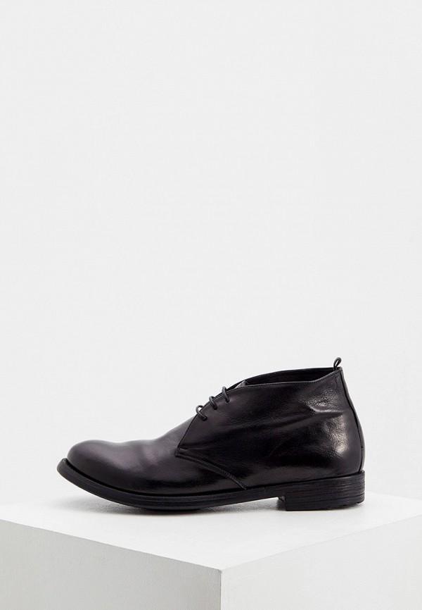 мужские высокие ботинки officine creative, черные