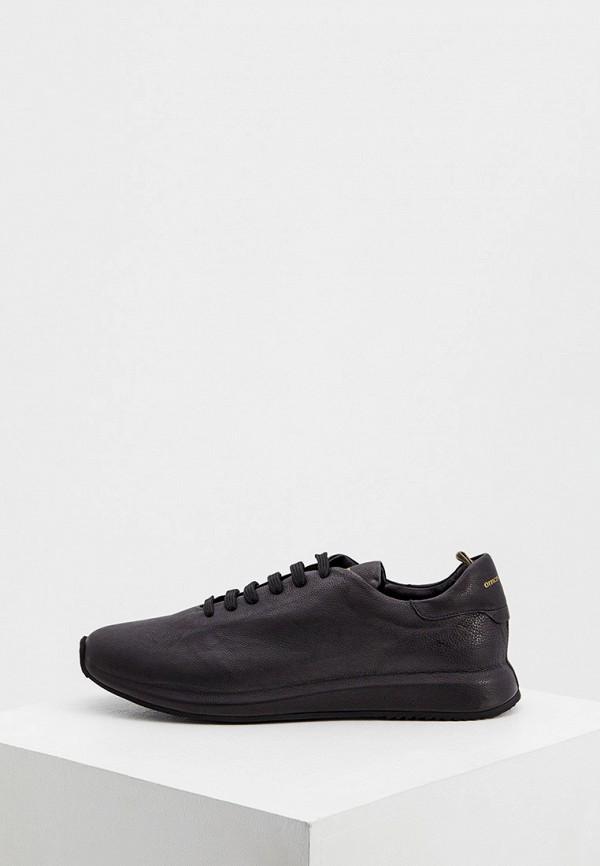 мужские низкие кроссовки officine creative, черные