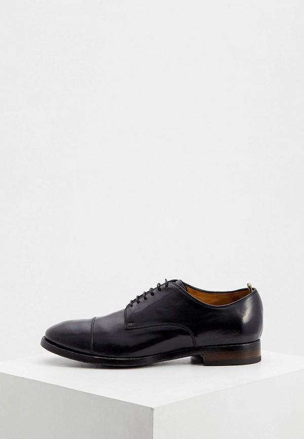 мужские туфли-дерби officine creative, черные
