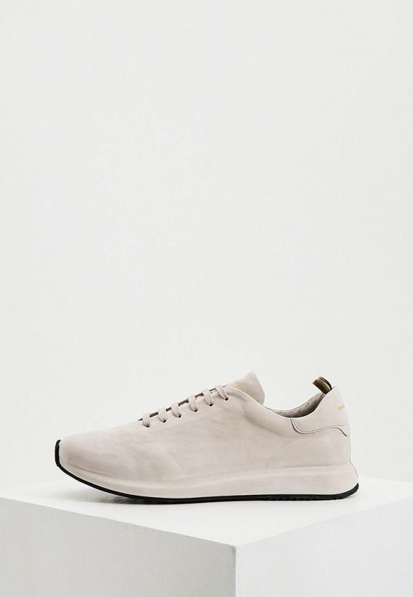 мужские кроссовки officine creative, серые